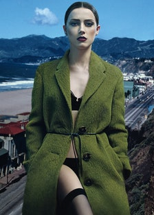 Amber Heard Cover Burberry Prorsum
