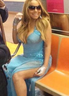 Mariah Carey Subway Couture
