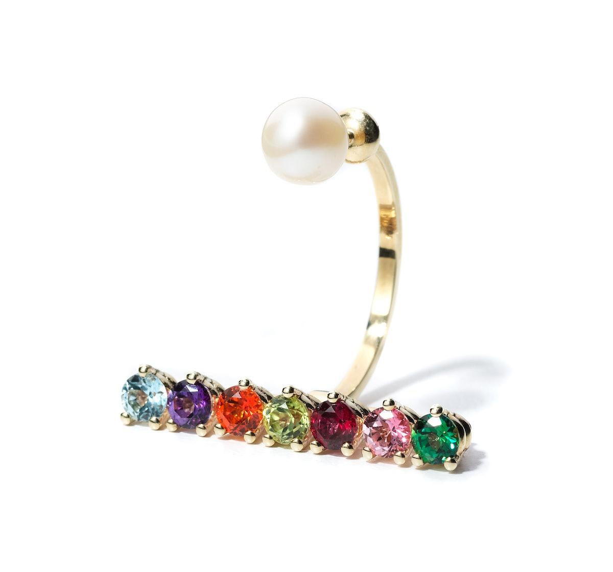Delfina Delettrez earring