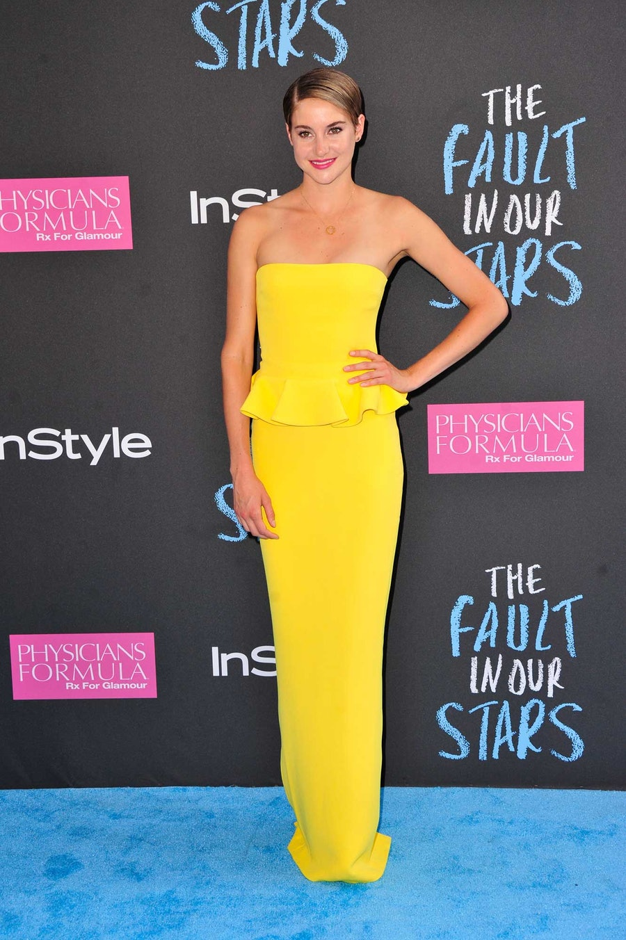 Shailene Woodley at The Fault In Our Stars Premiere