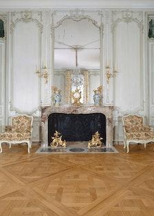 Grand Salon at the Château d'Abondant,