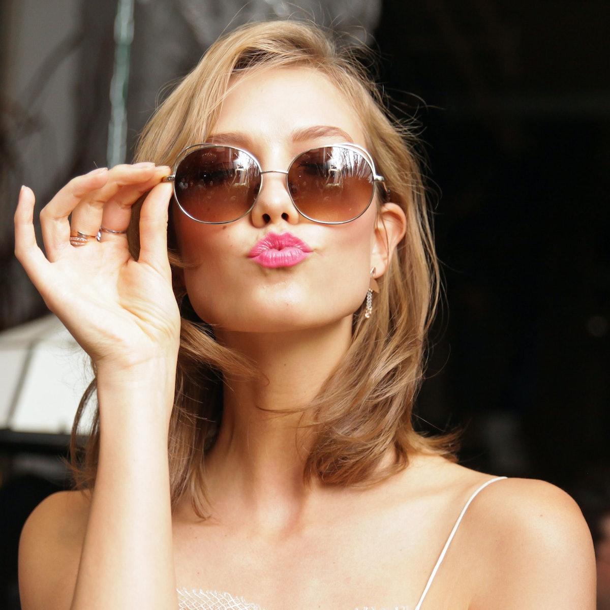 Karlie Kloss x Warby Parker