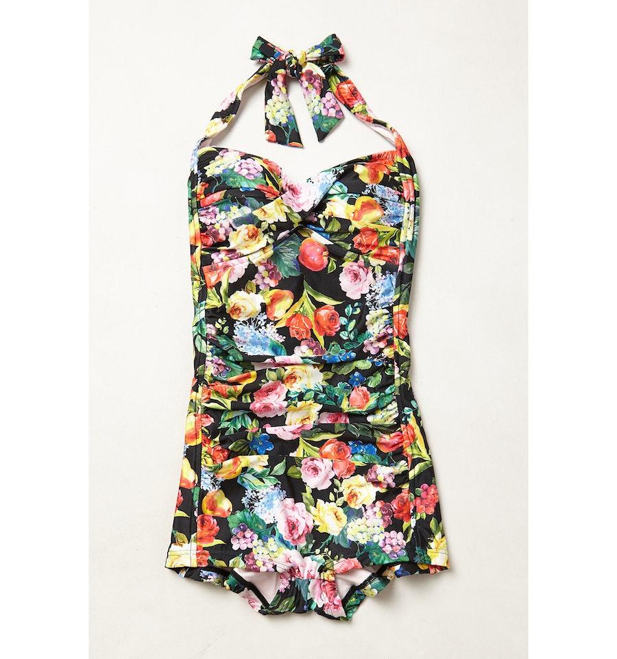 Seafolly Summer Garden Boyleg maillot