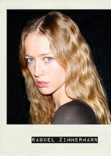 Raquel Zimmermann Polaroid