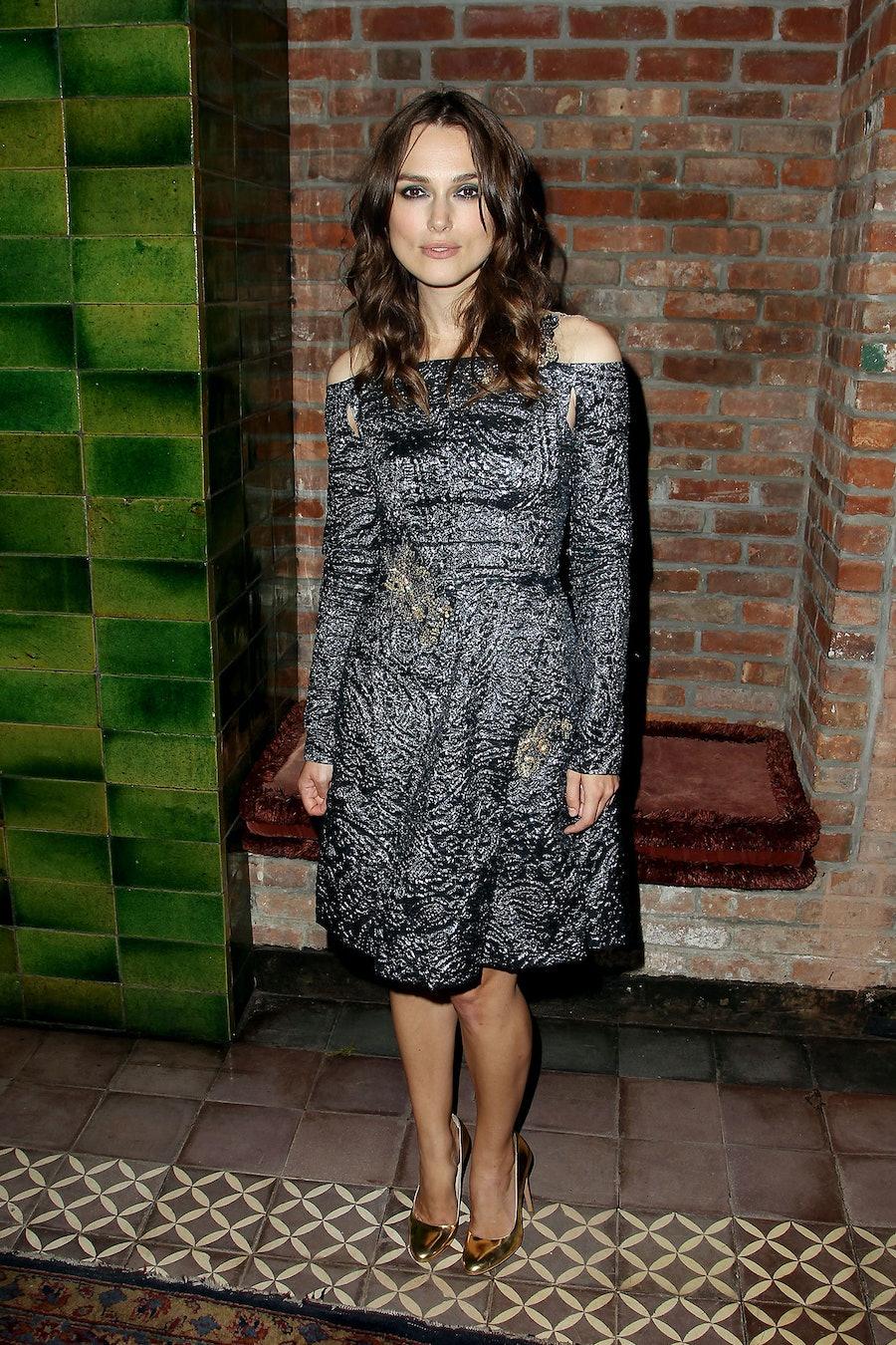 Keira Knightley at Begin Again Premiere