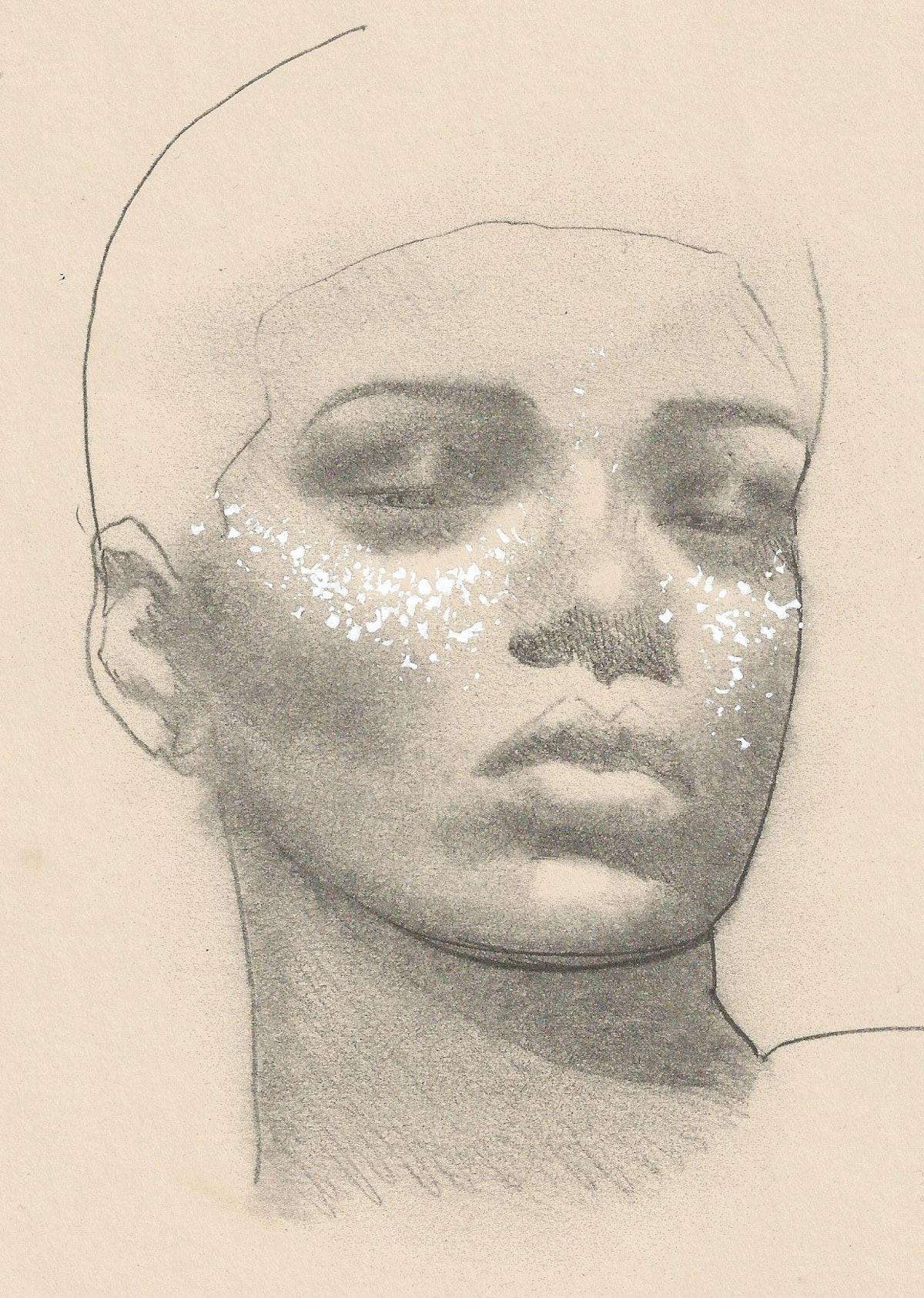 Kabuki's sketch of Rihanna