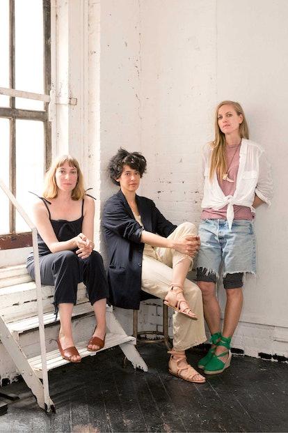 Sheila Heti, Leanne Shapton, and Heidi Julavits