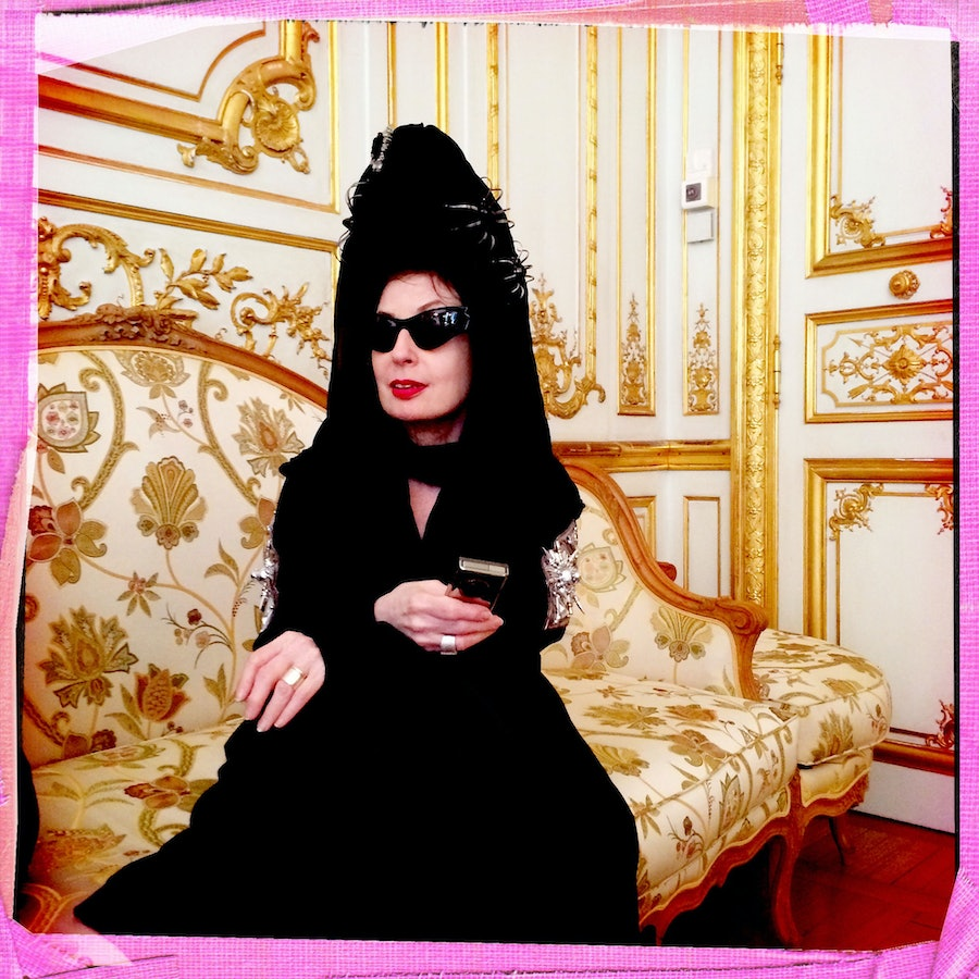 Diane Pernet by Jean Luc Dupont