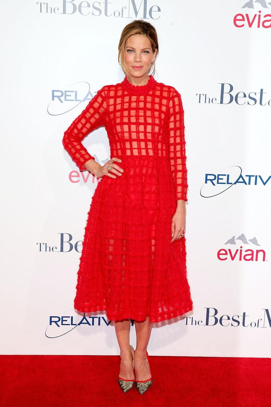Michelle Monaghan in Simone Rocha