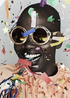 """Karen Walker """"celebration"""" glasses"""
