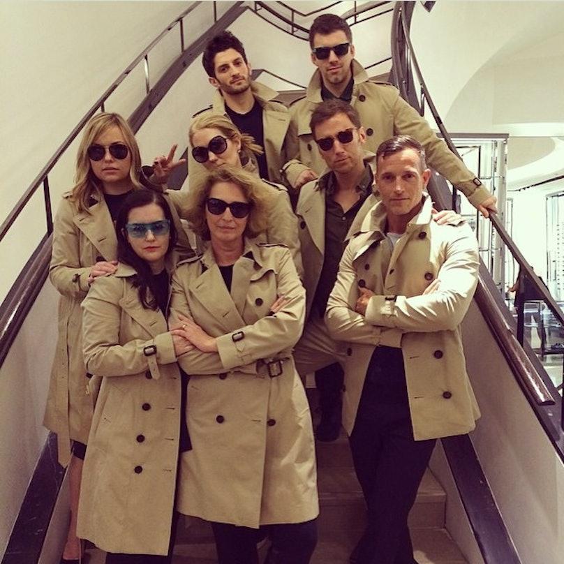 Burberry team