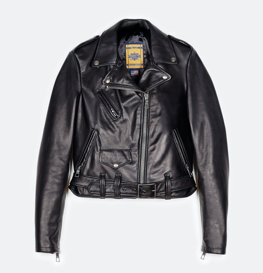 Schott NYC x The Line Perfecto leather jacket
