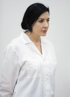 Portrait of Marina Abramovic, 2012