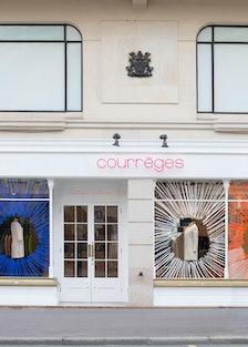 The Courrèges Pop-Up Shop in Paris