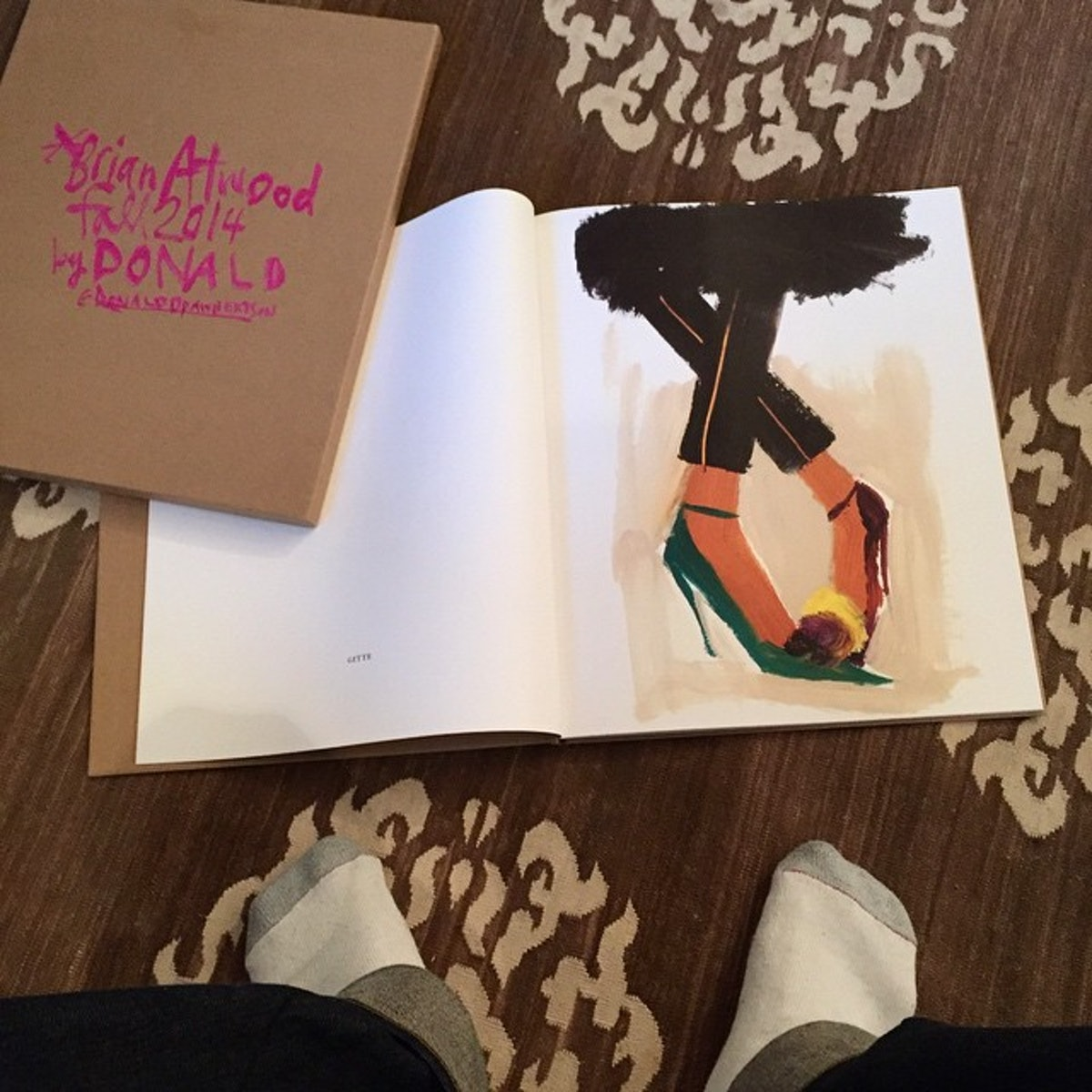 Brian Atwood book Donald Robertson