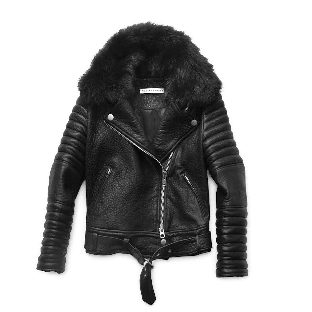 The Arrivals Rainier structured moto jacket