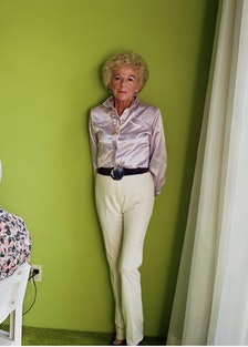 Larry Sultan's My Mother Posing for Me