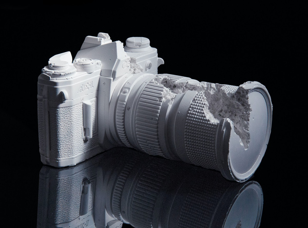 Camera, 2014 by Daniel Arsham