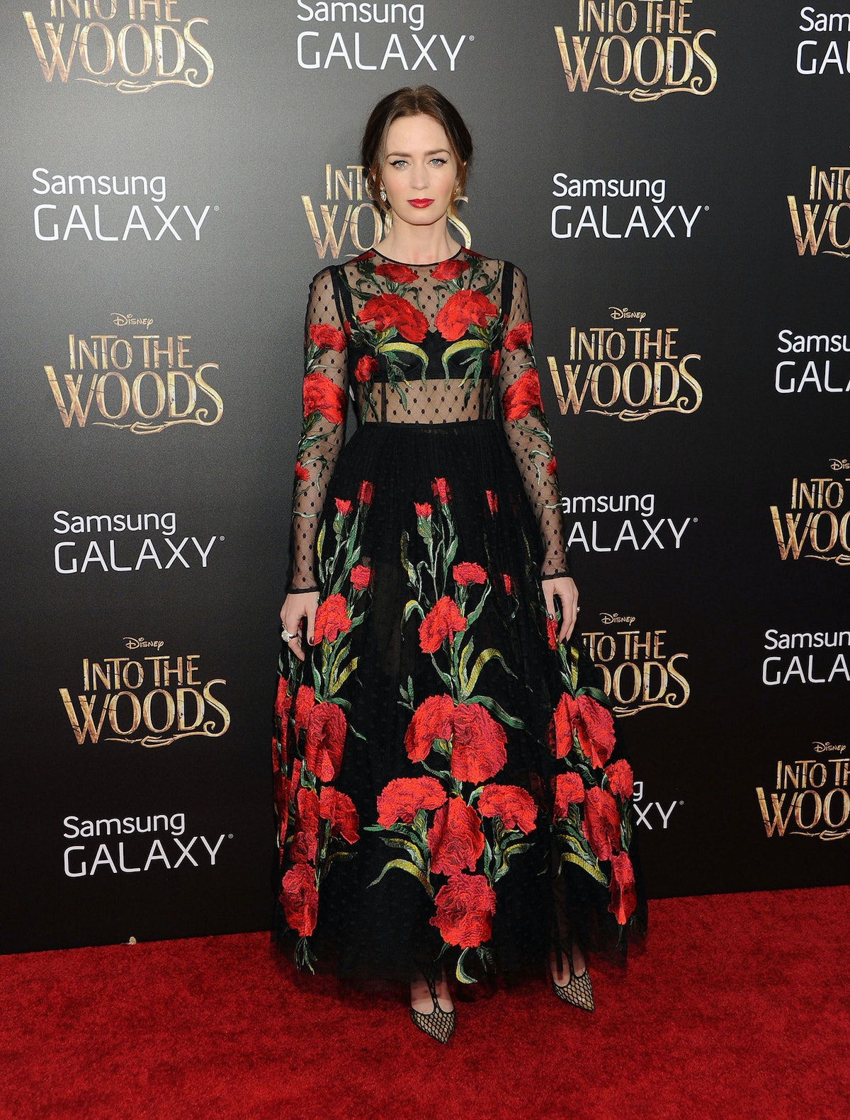 Emily Blunt in Dolce and Gabbana