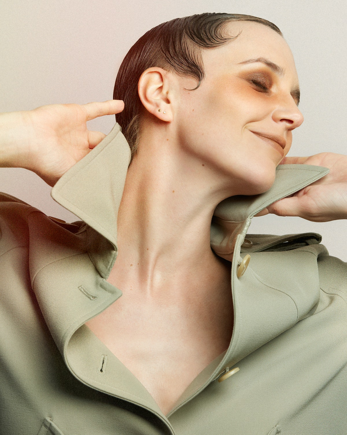 Hannelore Knuts, Neutral Makeup