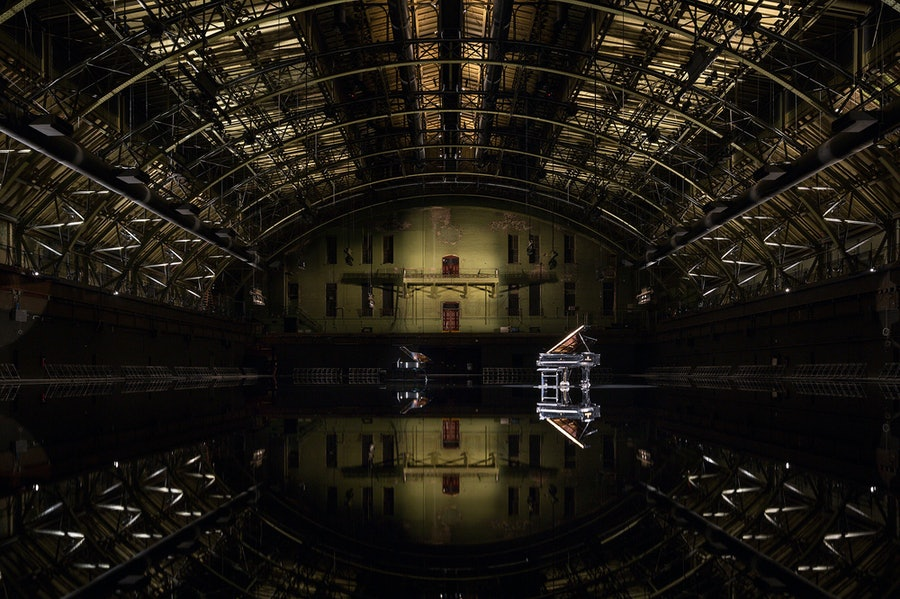 tears become... streams become... at Park Avenue Armory
