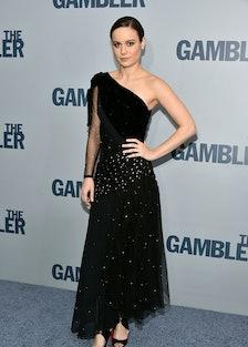 Brie Larson in a Rodarte Fall 2014 dress