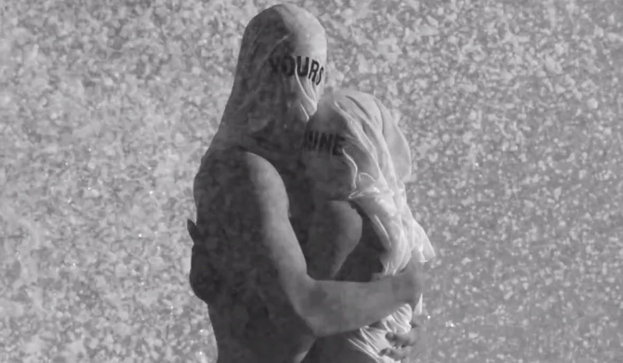 """Still from Beyoncé's """"Yours And Mine."""""""