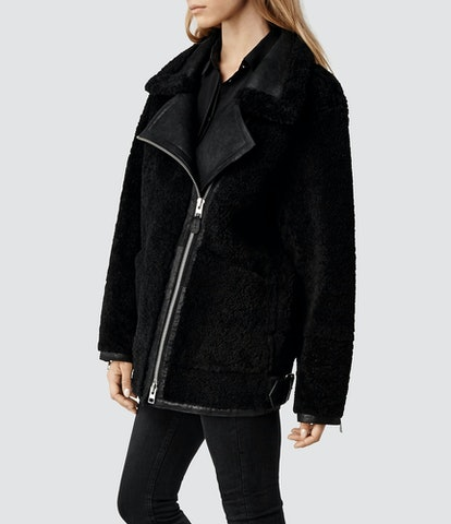 All Saints Tansley leather jacket