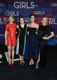 Zosia Mamet, Lena Dunham, Allison Williams, and Jemima Kirke