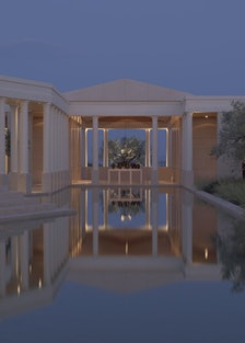 The Central Pool at Amanzoe