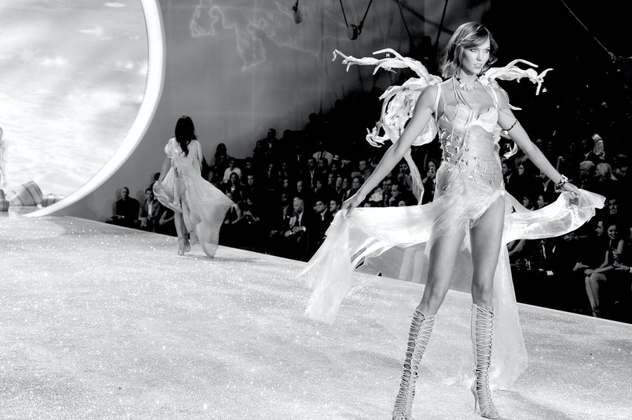 Karlie Kloss walks in the 2013 Victoria's Secret Fashion Show