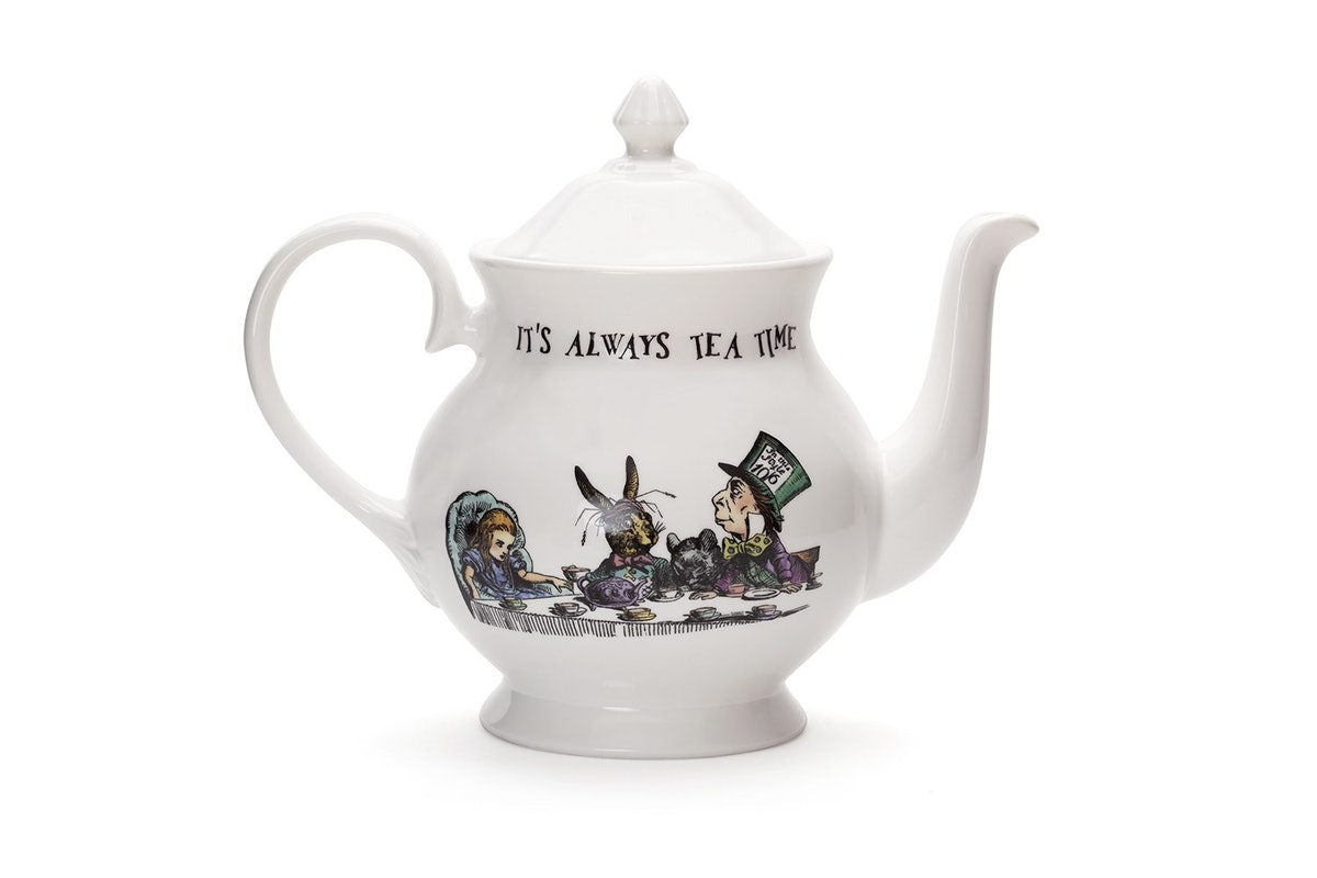 Mrs. Moores Alice in Wonderland teapot