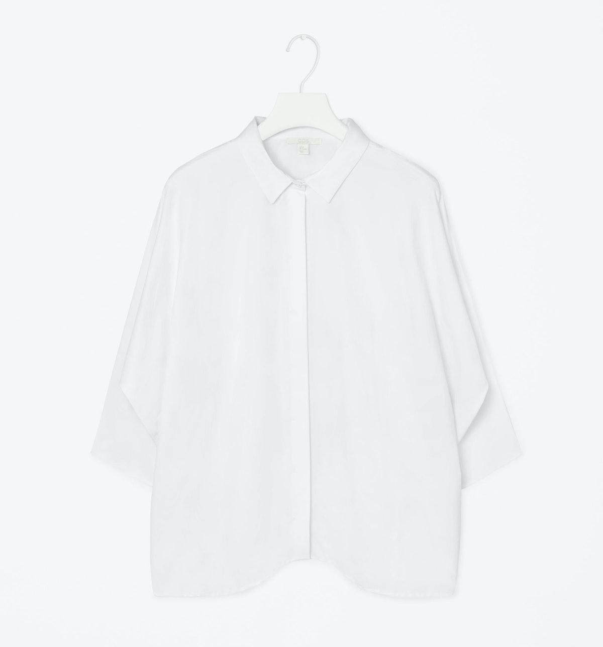 COS wide cut shirt,