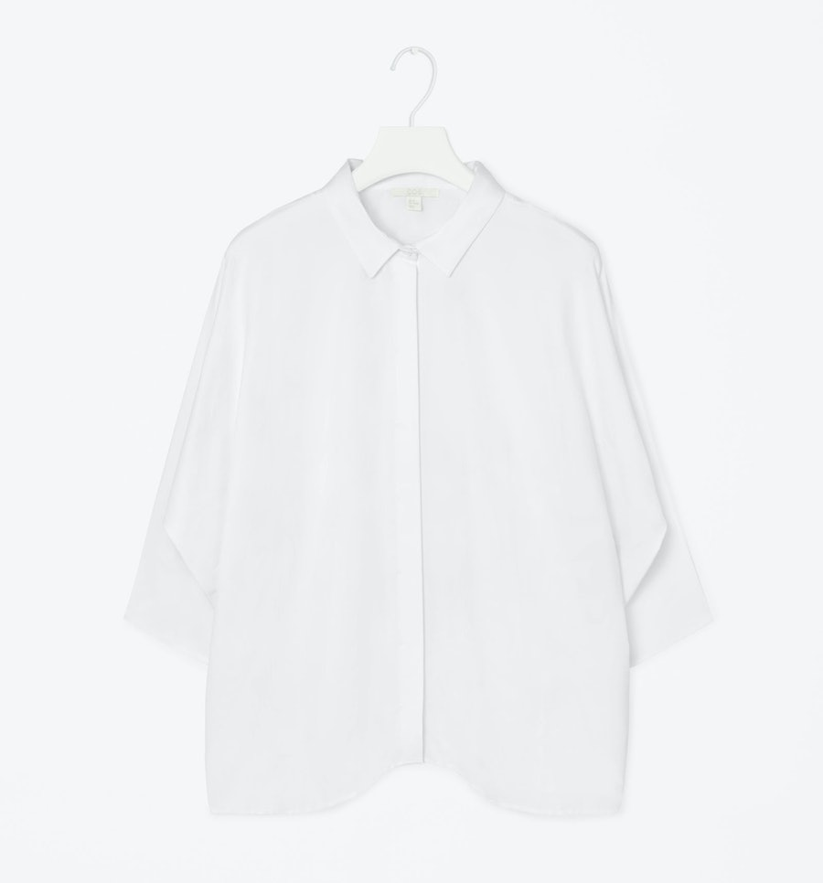 COS wide cut shirt,