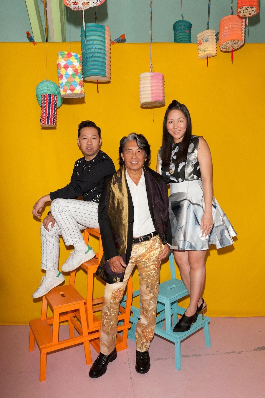 Humberto Leon and Carol Lim, Kenzo Takada