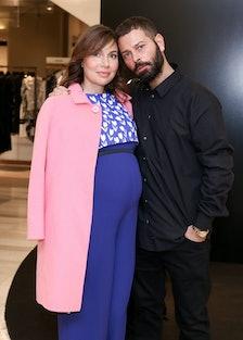 Fabiola Beracasa-Beckman and Fausto Puglisi