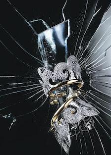Tiffany & Co. gold and diamond cuffs