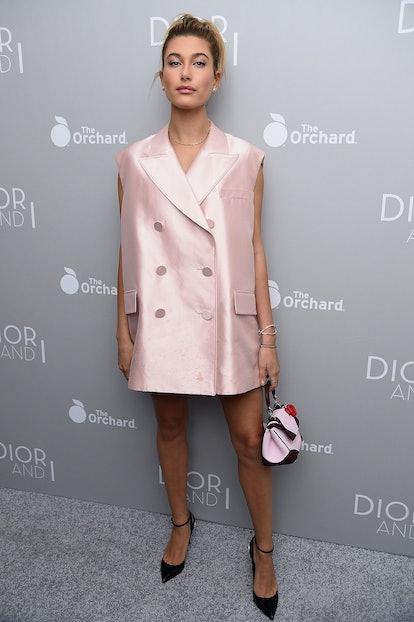 Hailey Baldwin in Dior