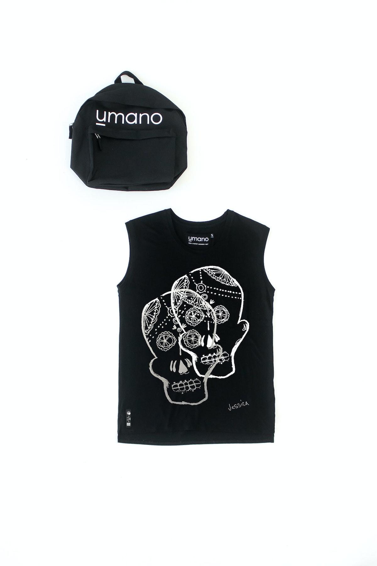 Umano The Skull muscle tee