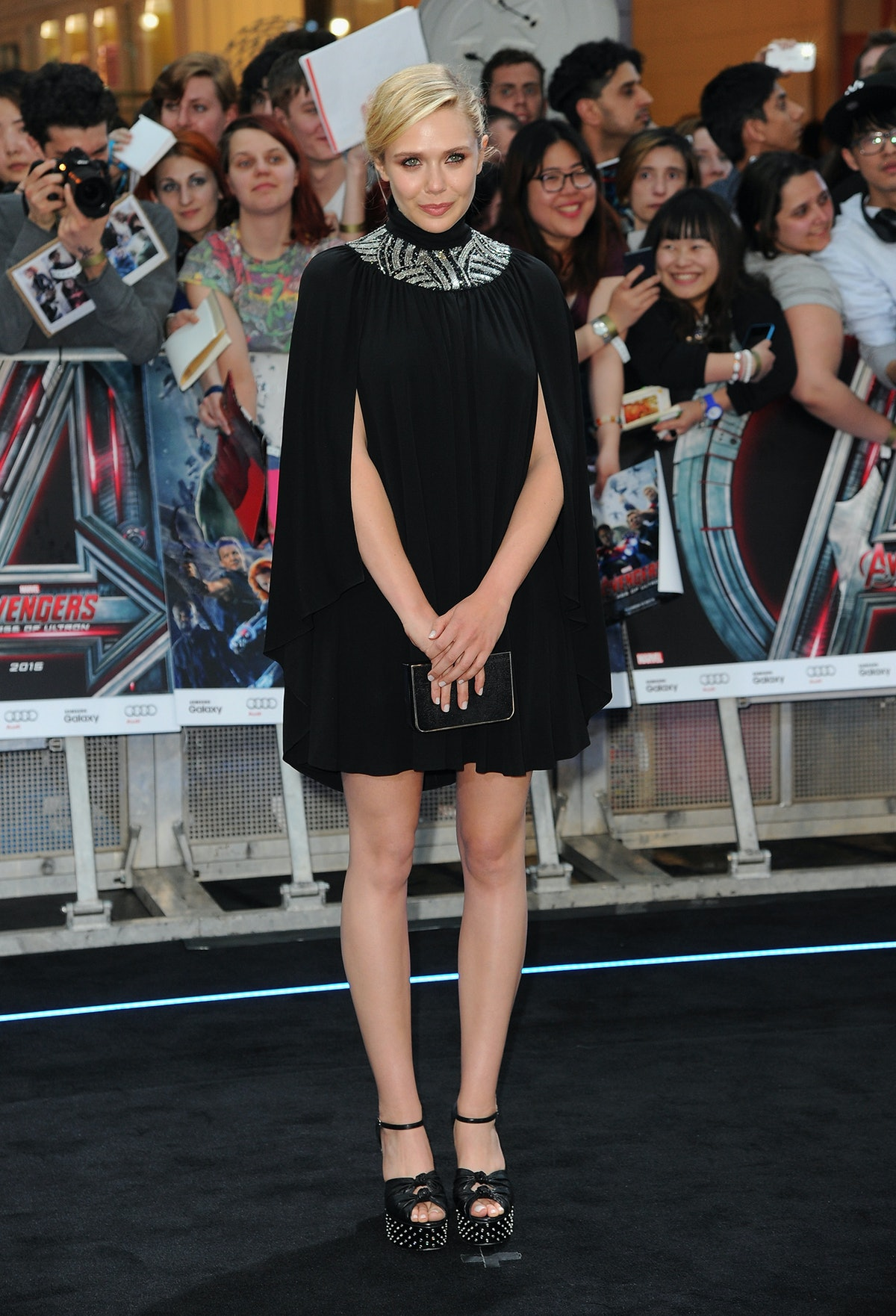 Elizabeth Olsen Saint Laurent