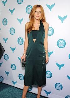 Bella Thorne Mugler Dress