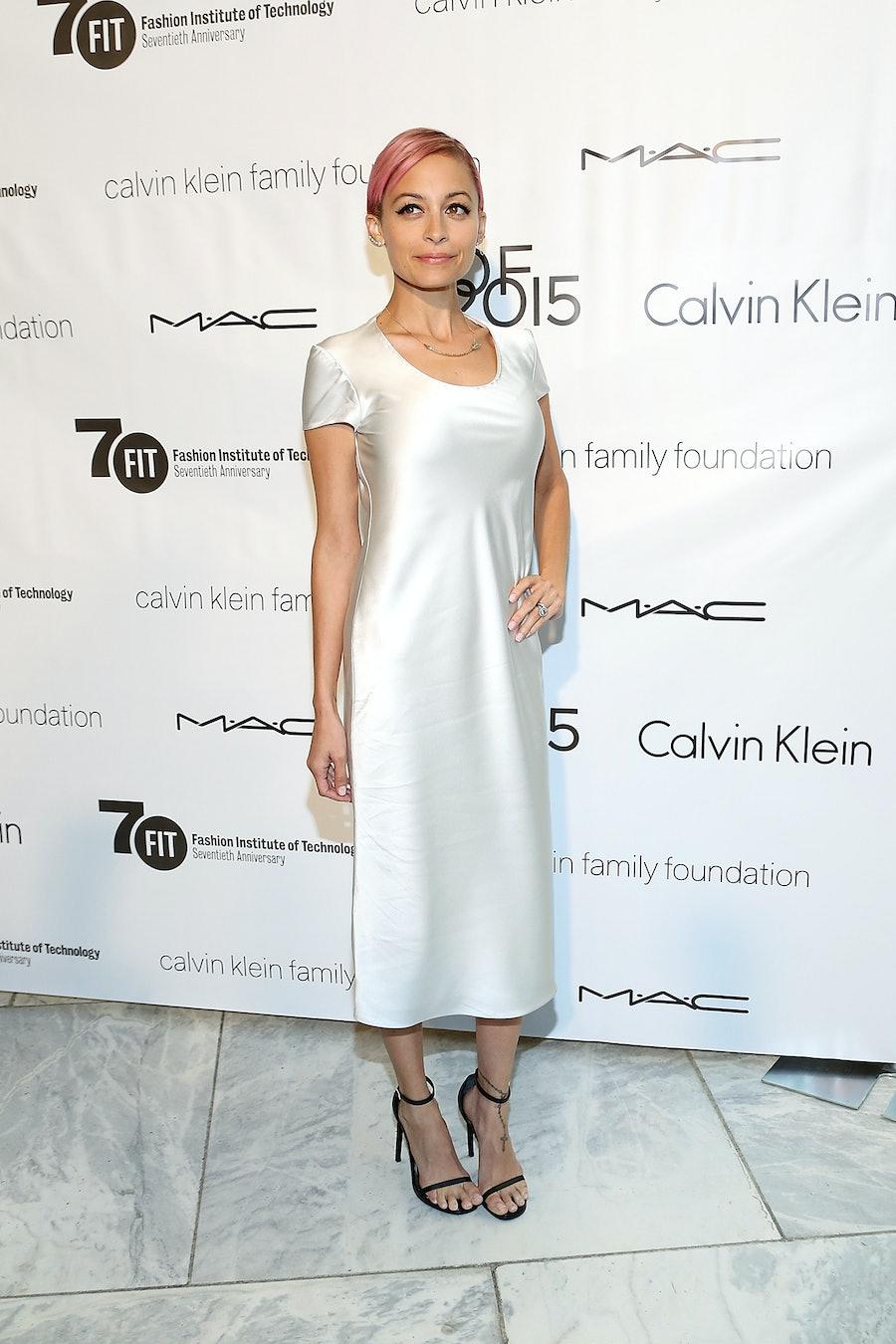 Nicole Richie in Calvin Klein Collection