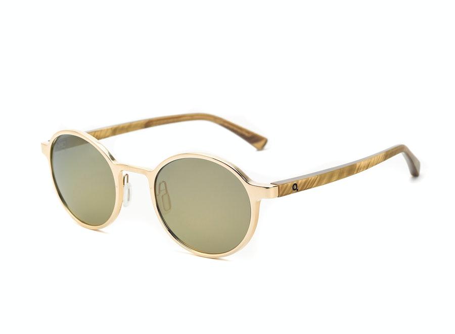 Etnia Barcelona Yokohama Round Metal Sunglasses