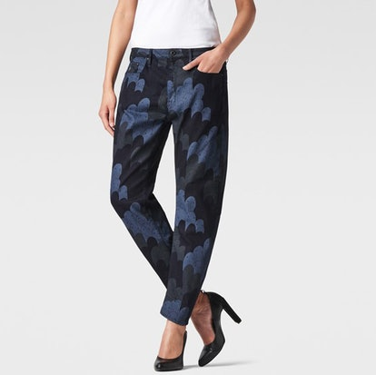 Raw for the Oceans patterned 3D pants