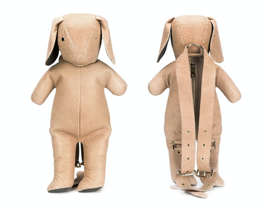 Dominic Louis x Mandy Coon bunny backpack