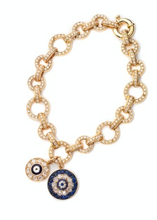 Aaron Basha charm bracelet