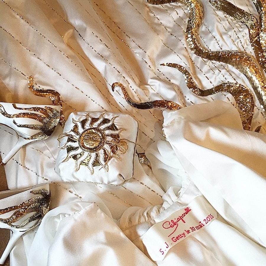 Sabine Ghanem Wedding Dress