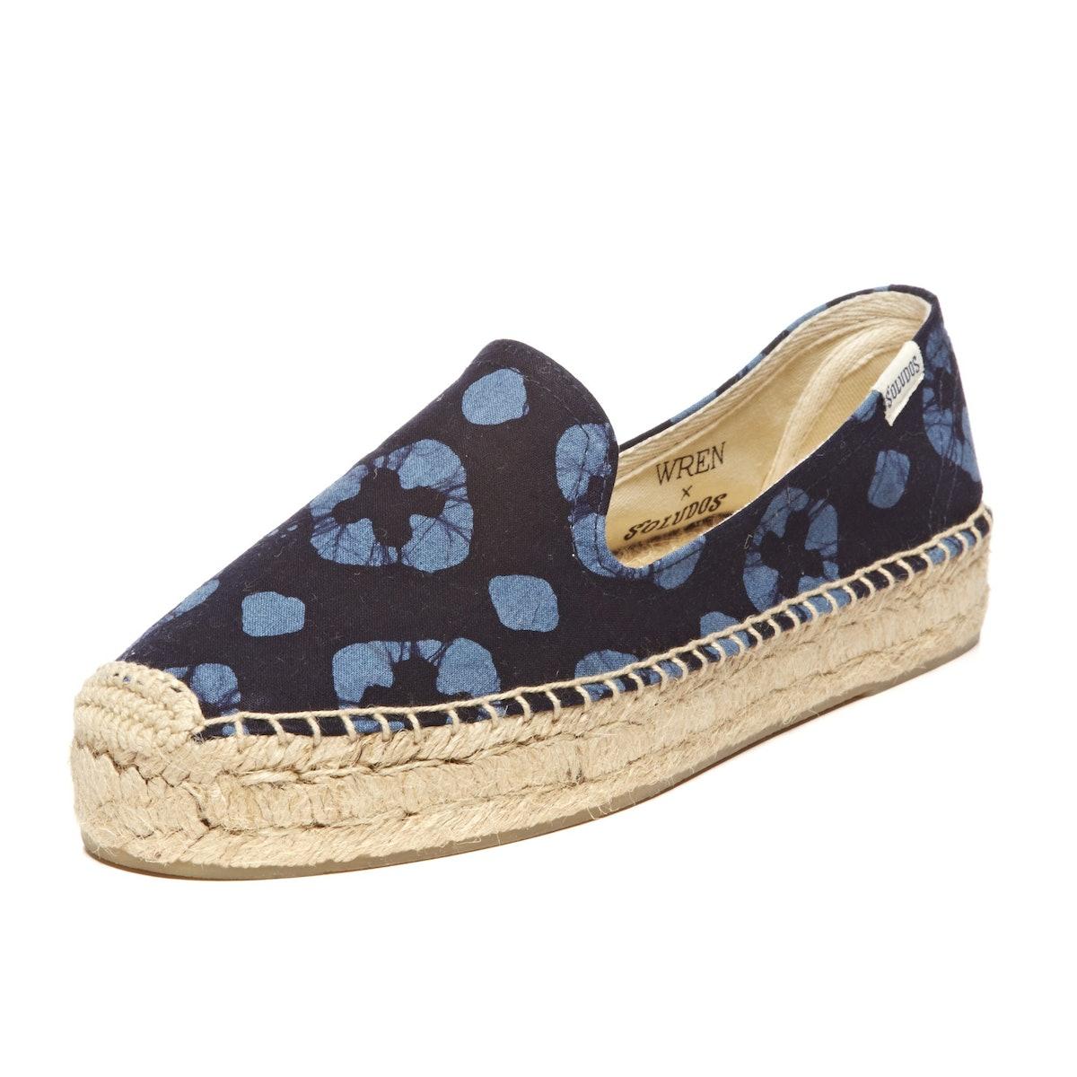 Wren x Soludos platform smoking slipper
