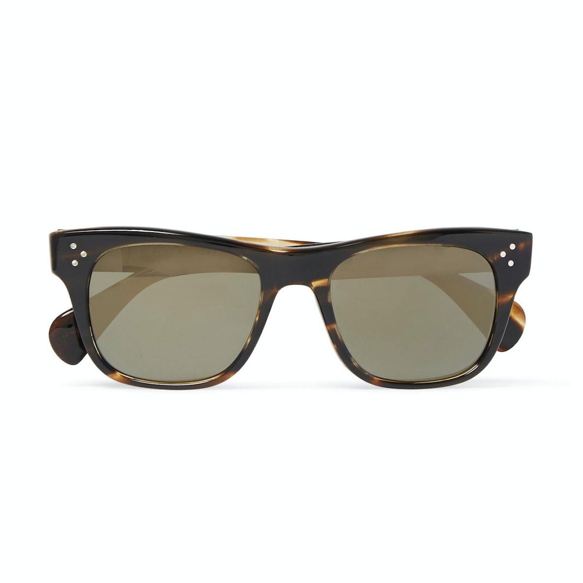 Jack Huston x Oliver Peoples sunglasses