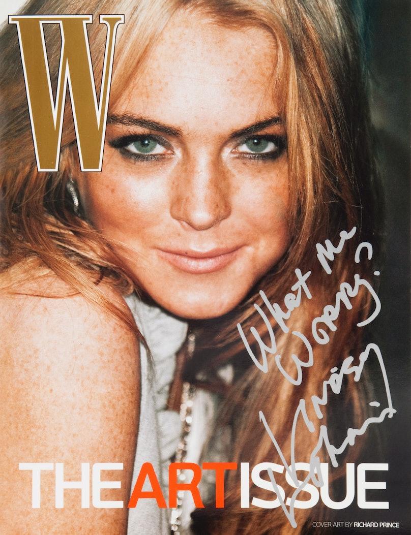 Lindsay Lohan by Richard Prince